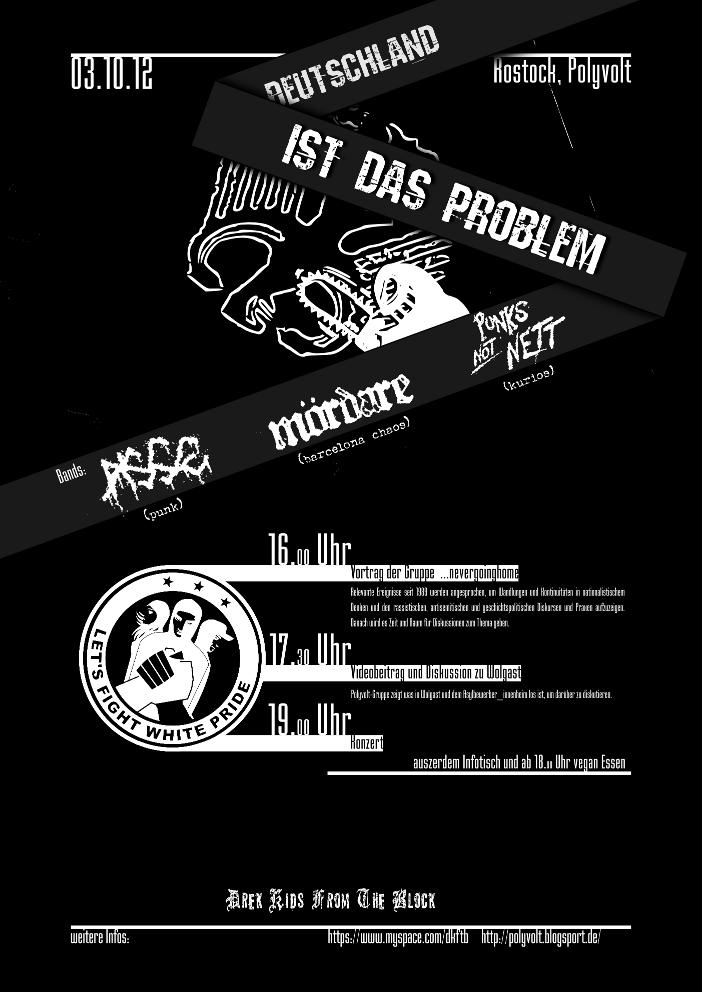 Deutschland ist das Problem - Poster